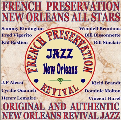 CD disponible groupe jazz new orleans